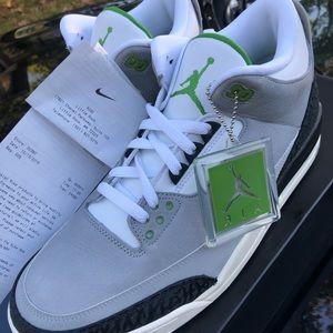 Jordan 3 Chlorophyll